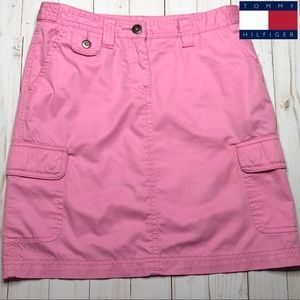 Tommy Hilfiger Pink Mini Skirt - Size 0